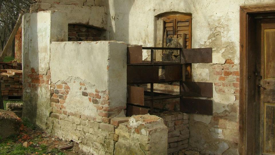 régi aszaló maradványa